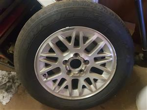 Jeep Cherokee Mag and Tyre  for sale
