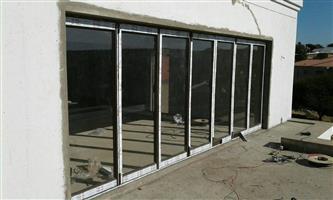 Aluminium winfoes.doors.sliding doors.folding doors.shopfront.aluminium garage doors.aluminium gates and glasses