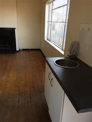 One bedroom open plan kitchen to Rent