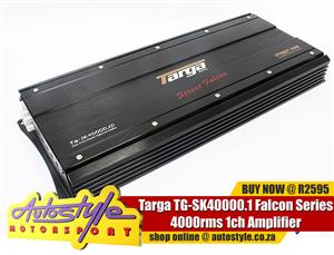 Targa TG-SK40000.1 Falcon Series 4000rms 1ch Amplifier