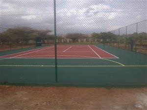 TENNIS COURTS SA Repairs in Mpumalanga 0820703249