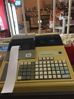 2 tills with scanners for sale