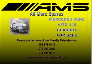 MERCEDES BENZ VITO 115 GEARBOX FOR SALE
