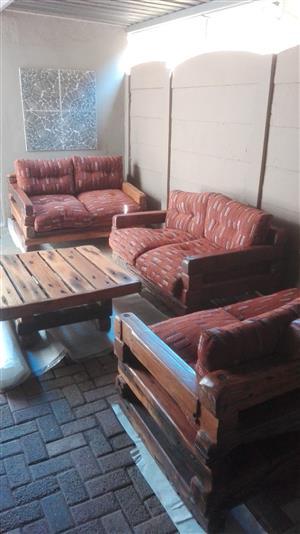 Patio Lounge Furntiture - Sleeper Wood