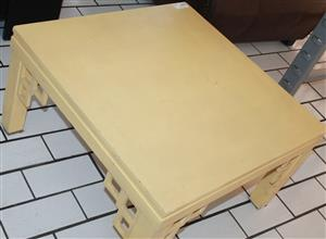 S034409I Wooden coffee table #Rosettenvillepawnshop
