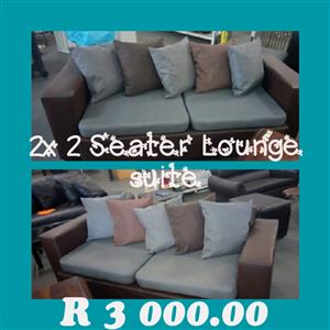 2x2 seater lounge suite