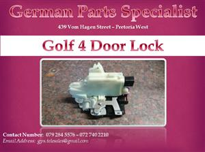 Golf 4 Door Lock
