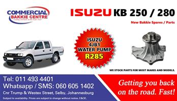 isuzu 4jb1 water pump