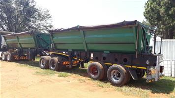 Superlink Sidetipper trailer for sale-2012-R130 000