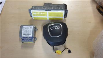Audi A 4 B 8 Dash & Steering Airbags with Sensor