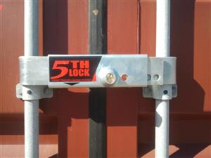 Strengthened 5th lock - container and truck locks for sale