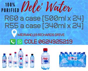 Purified Bottled Water