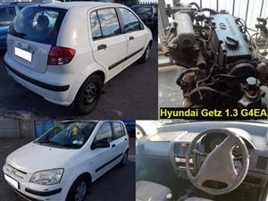 Hyundai Getz spares for sale.