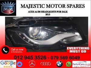 Audi A4 B8 headlights for sale