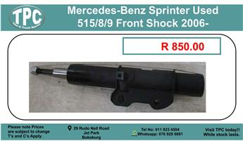 Mercedes-Benz Sprinter Used 515/8/9 Front Shock 2006- For Sale.