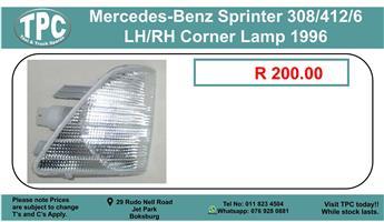 Mercedes-Benz Sprinter 308/412/416 LH/RH Corner Lamp 1996 For Sale.