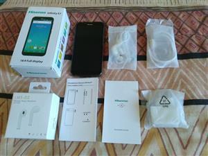 Hisense Infinity E7 (Model F17) 16Gb Quad core Cellphone