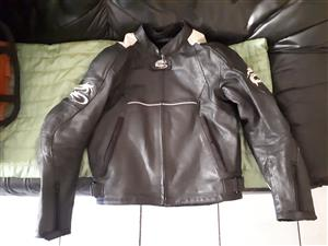 Two Leather Bike Jackets