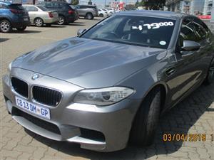2012 BMW M5 sedan M5 M DCT (F90)