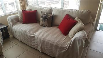 CORICRAFT 4 SEATER COUCH