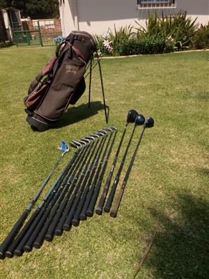 Complete John Daily Golf Set (Extra long)