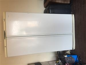 Double fridge and single bed for sale