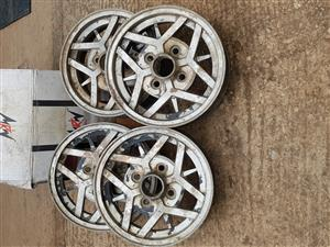 Used Datsun Stanza SS mags x 4 for sale