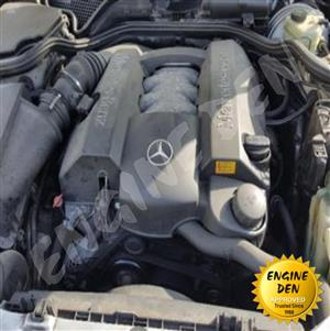 MERCEDES C180/C200 W202 ENGINE USED