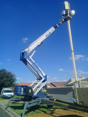 CHERRY PICKER VerticalZA Dino 260XT -  26m Portable Trailer Mounted ELECTRICAL Manlift