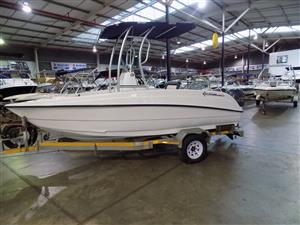 explorer 510 centre console on trailer 2 x 60 hp yamaha 4 strokes 41/42 hours
