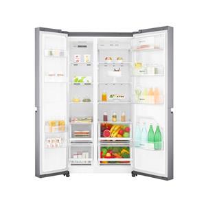 LG GC-B247SLUV.APZQESA, 626L Platinum Silver Side by Side Refrigerator, Mega Capacity (Demo)
