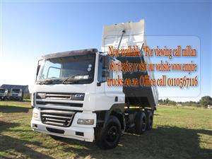 2006 DAF 10cube tipper truck now available for sale