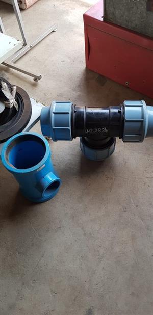 Plumbing T piece