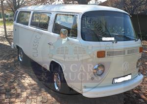 Beautifully restored VW Kombi