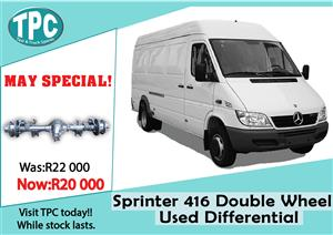 Mercedes Benz Sprinter 416 Used Double Wheel Differential For Sale at TPC