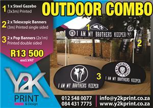 Outdoor branding combo