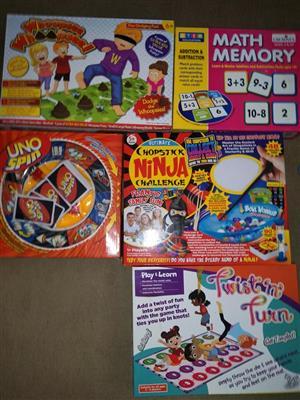 Kiddies educational board games for sale