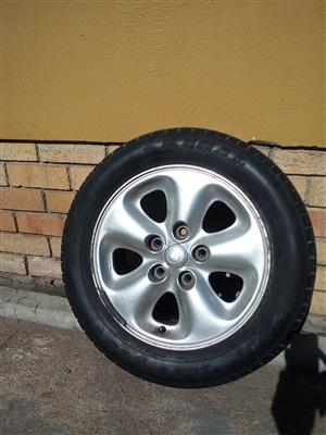 15 inch rim and tyre