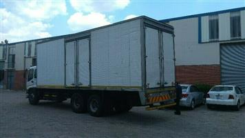 Bakkie for furniture removals service