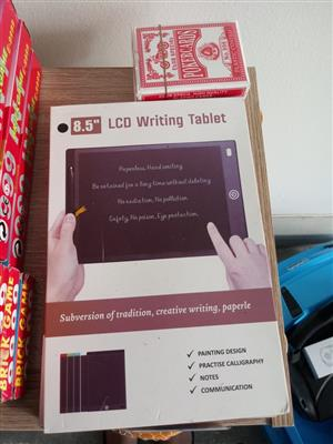 8 INCH LCD WRITING BOARD FOR DRAWING & WRITING