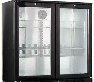 Back Bar Cooler 2 Door