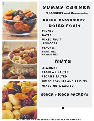 Dried Fruit And Nuts