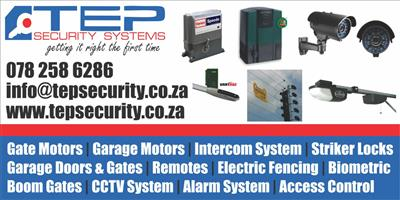 Security Systems and Electronics Services in Gauteng.