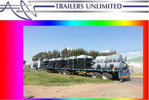 TRAILERS UNLIMITED WATER TANK TRAILERS. CUSTOM BUILD.