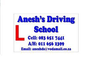Anesh's Driving School-Rivonia-Kyalami-Waterfall-Morningside-Bryanston-Gallo Manor -Paulshoff-