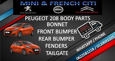 PEUGEOT 208 Bonnet's, Bumpers, Fenders