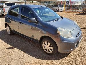 2012 Nissan Micra 1.2 Visia
