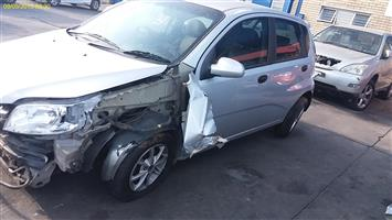 2009 CHEVROLET AVEO Code 2 for rebuild