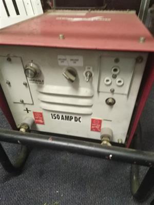 150 amp welder/generator with welding kit