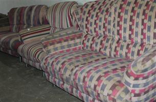 3 piece lounge suite S032798A #Rosettenvillepawnshop